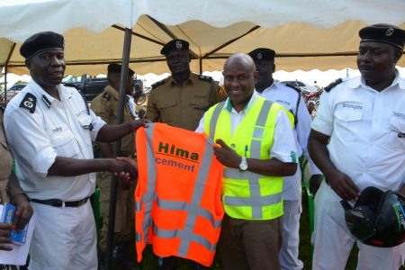 Hima Cement joins police in Road Safety Campaign