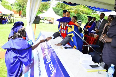 1065 students graduate from Cavendish University
