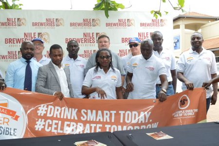 NILE BREWERIES LIMITED CELEBRATES THE GLOBAL BEER RESPONSIBLE DAY.