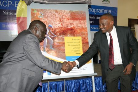 Uganda launches baseline reports on development minerals sector