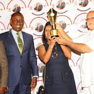 Triple awards for the Ruparelias: Speke Hotels Group scoops 2 World Luxury Hotel awards; Sudhir gets EA Business Leadership award, as couple clocks 42 years in marriage
