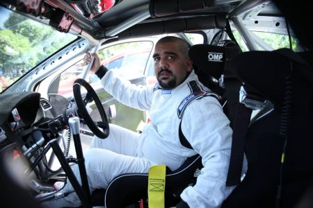 Rajiv Ruparelia marks rally debut in 2nd position
