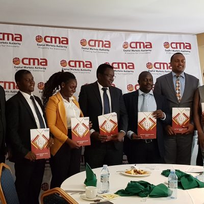 CMA Uganda unveils report on the development of Collective Investment Schemes Industry