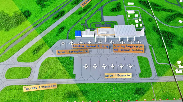 The on-going airport expansion works include erection of a new cargo centre with a storage capacity of 100,000 tonnes, way higher than 59,000 tonnes of the former centre, this includes an apron plus an upgrade on the runway. Uganda Civil Aviation Authority projects that the Entebbe International Airport expansion will lead to an increase in passenger traffic to 3.5 million annually from the current 1.8 million which will boost the tourism industry in Uganda. The rehabilitation works for expansion of aircraft parking apron 1, are at 71.9% while the second runway is at 85% completion.  CAA is currently working on all airport access roads which are at 95% completion plus establishment of a new fuel firm and hydrant system. The expansion project aims to increase the passenger terminal's capacity from the current 410 arriving and 320 departing passengers to 930 arriving and 820 departing passengers during peak hours. The airport renovation will increase the availability and frequency of international flights. The expansion will also improve aviation safety and security