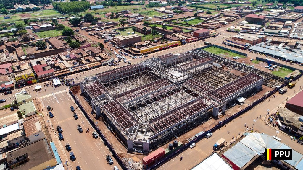 In Feb 2018, the construction site of Tororo central market was officially handed over to the contractors, Youngjin construction, a Korean based construction firm following a fire outbreak that left vendors counting losses. The project was a move by the NRM government to make sure that the vendors run their businesses normally again.  Several vendors whose businesses were affected by the 27.7 billion shillings project jubilated over the new development that is expected to be completed in two years.
