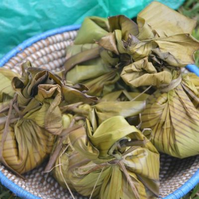FOOD & LIFESTYLE: Step by step guide to making delicious luwombo (banana leaf steamed food)