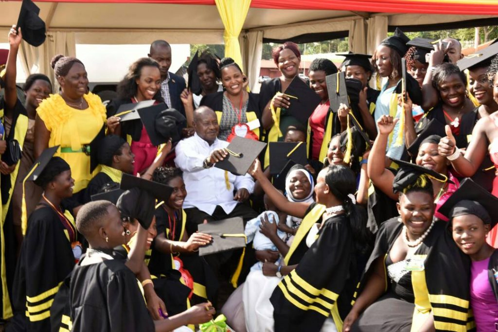 """Since April 2017, thousands of girls have benefitted from training in a project dubbed Presidential Initiative on Skilling Girl Child programme.  They receive training for six months in different centers such as Nakulabye, Ntinda, Luzira, and Mutundwe among others according to project manager, Faridah Mayanja.   The project, since its inception has reduced on unemployment levels since they are given hands-on skills as well as start-up capital. Even those who don't have money to go to other established vocational skills have been helped with skills for income-generation. The Presidential Initiative of skilling the girl child started in April 2017 by the President of Uganda to empower the girl child and since then has benefited 12,651 girls. It should be noted that when women are empowered, the whole community stands to benefit as they are in a position to contribute to the economic development of the country.  """"Give a man a fish, and you feed him for a day, teach a man to fish, and you feed him a lifetime"""" this is a common adage we subscribe to as a program"""""""