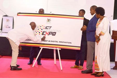 Museveni opens inaugural ICT Expo; roots for locally made ICT solutions
