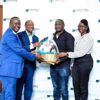 CUSTOMER APPRECIATION: Bank Of Africa rewards oldest customers and top digital users