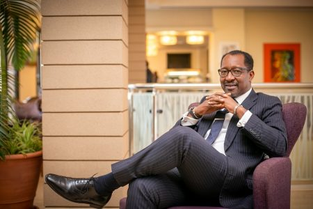 """RICHARD BYARUGABA- the man who restored the """"Security"""" in the National Social Security Fund of Uganda"""
