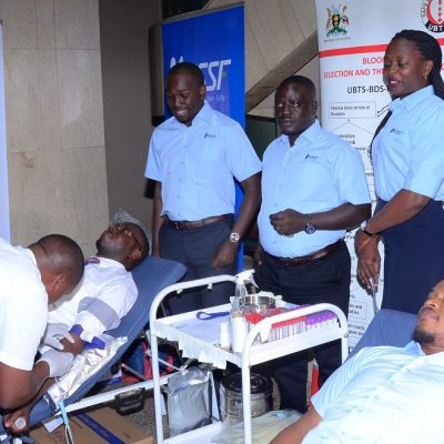 NSSF's 5-day countrywide blood drive starts; Blood Bank makes appeal to end blood shortage